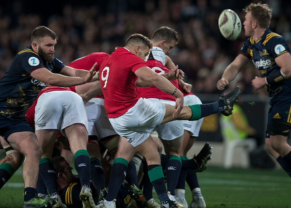 Rhys Webb, during game 4 of the British and Irish Lions 2017 Tour of New Zealand,The match between  Highlanders and British and Irish Lions, Forsyth Barr Stadium, Dunedin, Tuesday 13th June 2017 (Photo by Kevin Booth Steve Haag Sports)  Images for social media must have consent from Steve Haag