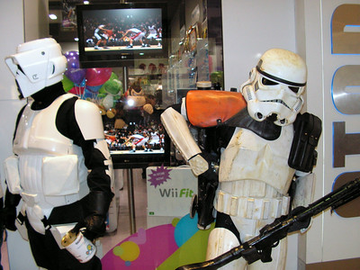 The Force Unleashed Premiere @ Gametraders Highpoint 2008