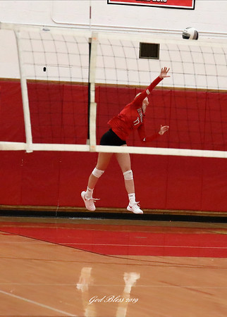 100319 Baldwinsville vs FM Girls Volleyball