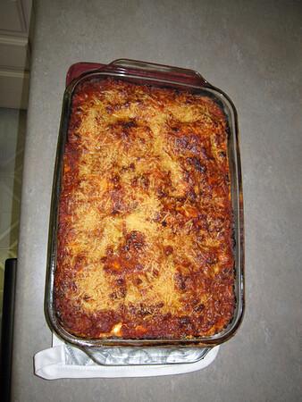 Kate's First Lasagna