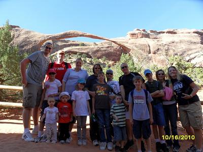 JT Fam Reunion @Moab/Arches Oct2010