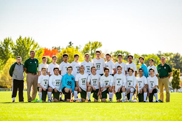 2017-10-12 OHCHS Boys' Soccer Team Photos