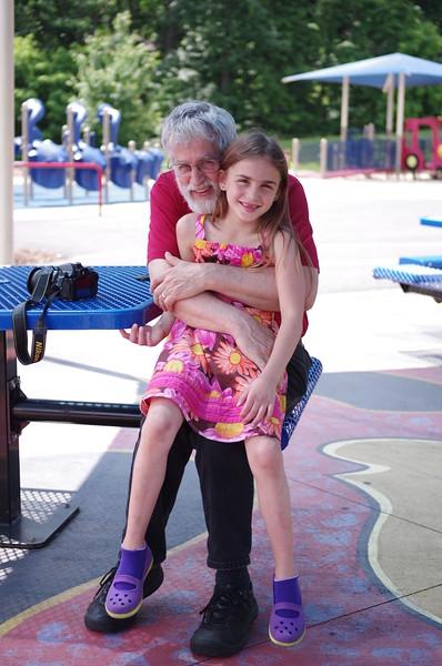 Anya and Papa.