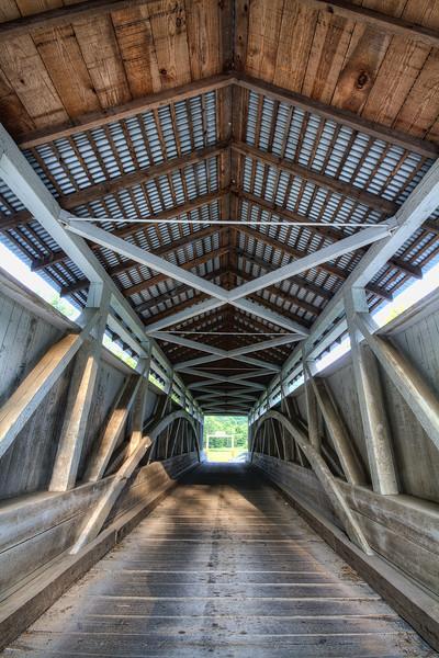 Pennsylvania - Hewitt Covered Bridge, Hewitt Pa