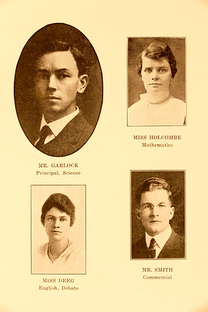 MHS class of 1918 from Sylvan