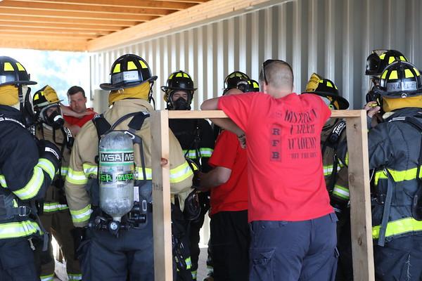 MAAC Foundation Fire  Academy  AIR Packs