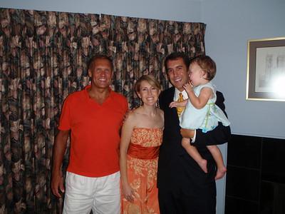 Adam, Jessie, & Addy in Raleigh - 2008