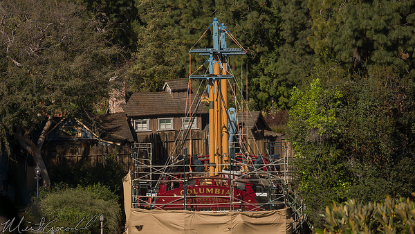 Disneyland Resort, Disneyland, Adventureland, Tarzan Treehouse, Tarzan, Treehouse, Sailing Ship Columbia, Columbia
