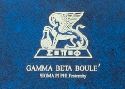 Sigma Pi Phi Awardees