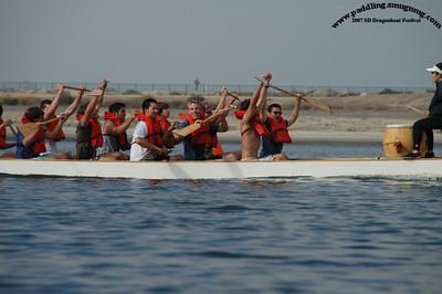 2007 Dragon Boat Festival, San Diego: Racers
