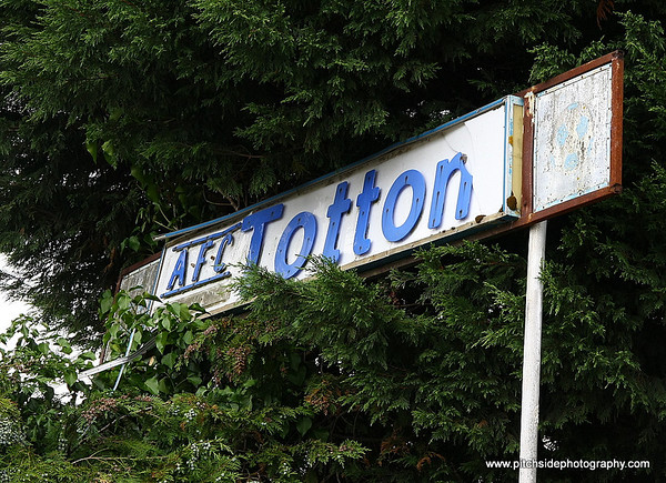 AFC Totton 1 Eastleigh 0 Friendly  17/7/10