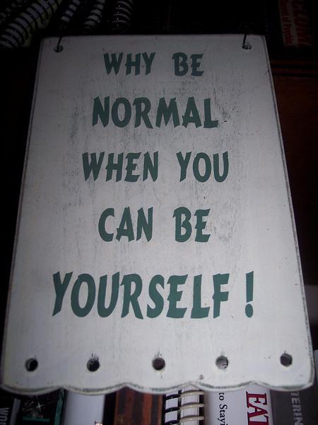 SAYING_NormalYourself.jpg