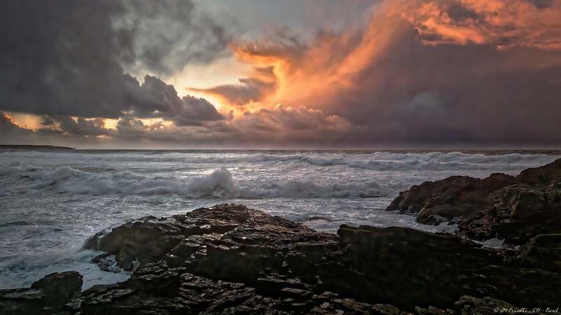 Winter and stormy weather on Lewis and Harris - Set 2
