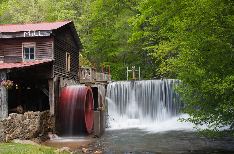 Skeenah Creek Mill on Hwy 60 in Morgonton, Ga.