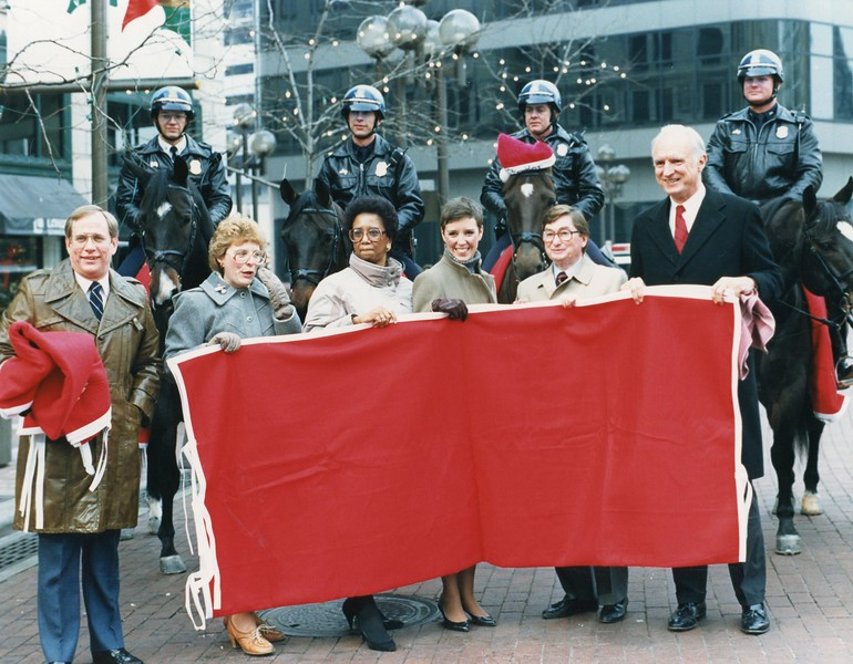 November 1987 Monument Circle