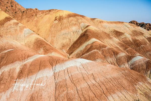 Danxia Landforms / Rainbow Mountains