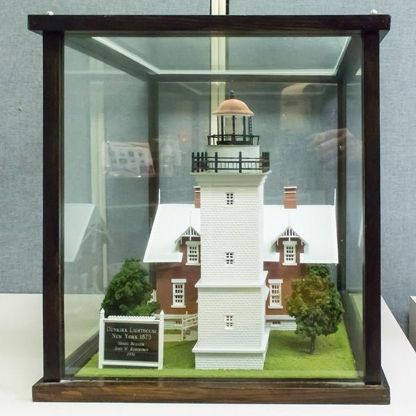 Dunkirk Lighthouse - 1875, Model built 1996