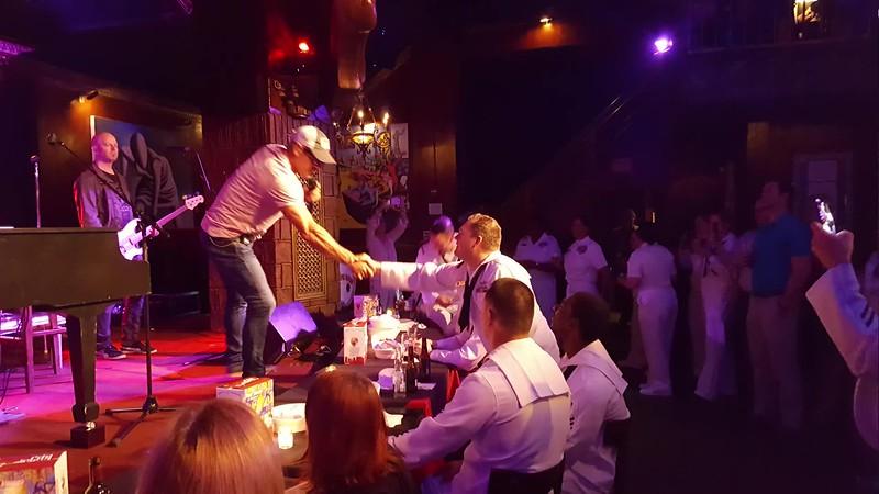 2017 Fleet Week  USO Concert Phil Vassar