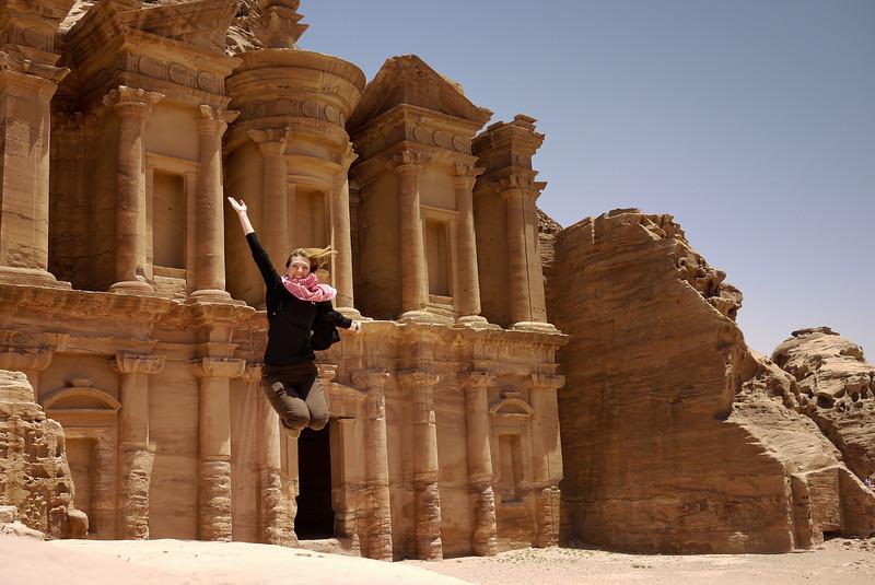 The Monastery (Ad-Deir) in Petra, Jordan.