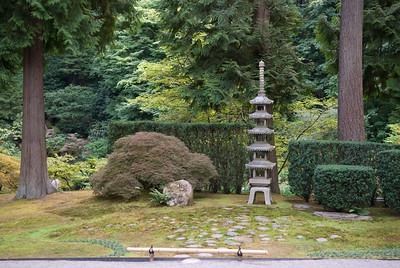 September 2008 Portland Japanese Garden Moonviewing
