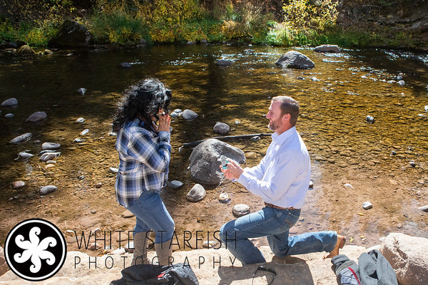 Vail Marriage Proposal - Gore Creek - Cody and Rosy