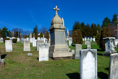 Center Cemetery, April 2, 2010