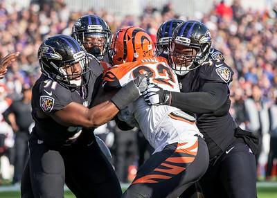 Ravens vs Bengals  11-27-16