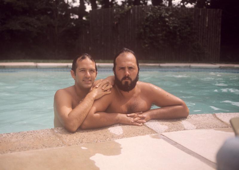 1975_06 John & Greg  At Mazer's.jpg