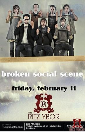 Broken Social Scene February 11, 2011