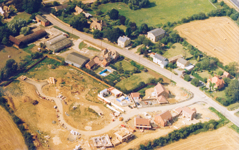 Construction of Ivy Way in Spaldwick (1996)