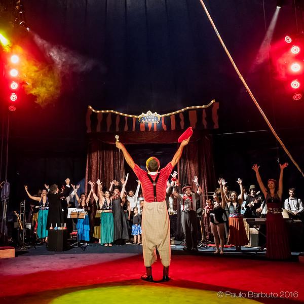 Circo Zanni - O Espetáculo Não Para - Tem Sequencia - Dezembro 2016