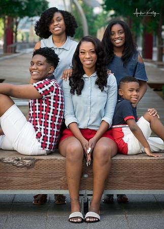 Chantal Robinson & Family