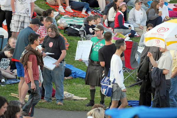 Gasworks Park Fireworks 2012