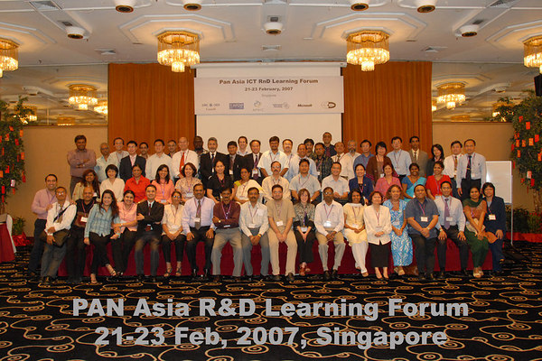 Learning Forum of the ICT R&D Grants Programme, Feb 2007