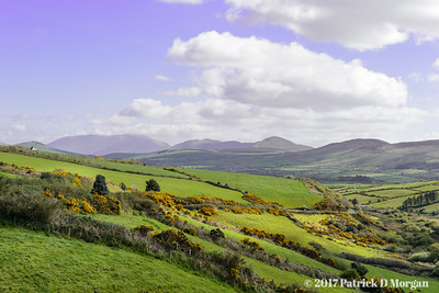 Overlook on N86 Between Tralee and Dingle, County Kerry, Ireland 04-22-2017