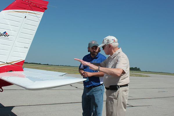 First flight lesson