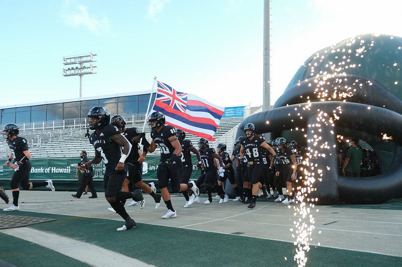 Hawaii Wins First Game at Clarence T.C. Ching Field
