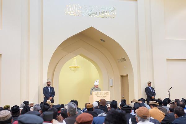 Khalifa of Islam Canada Tour 2013