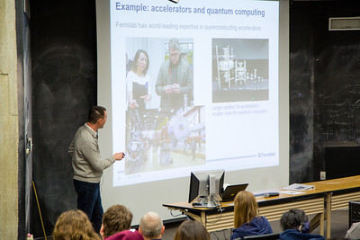 Saturday Morning Physics graduation - December 15, 2018