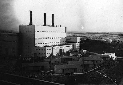 Electrical Power Station in Ashdod - 1964-1966