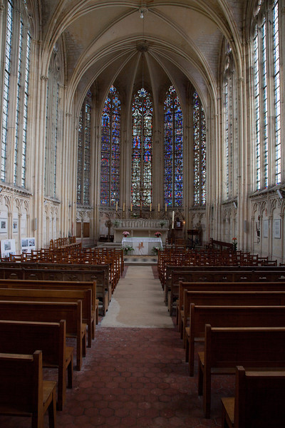 Saint-Germer-de-Fly Abbey - Sainte-Chapelle