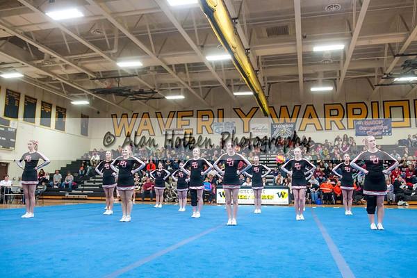 Cheer league meet at Waverly - St Johns