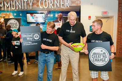 United Way Community Day @ The Charlotte Hornets 11-1-15 by  Jon Strayhorn