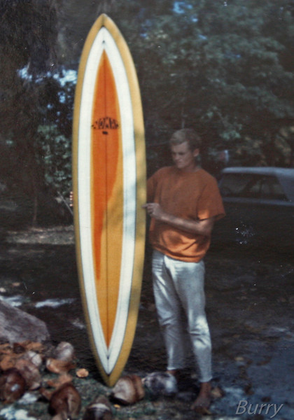Ron with my PR Board