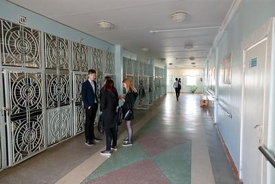 17.04.19 Уфа. Встреча с писателями в татарской гимназии 84 (Владимир Васильев)