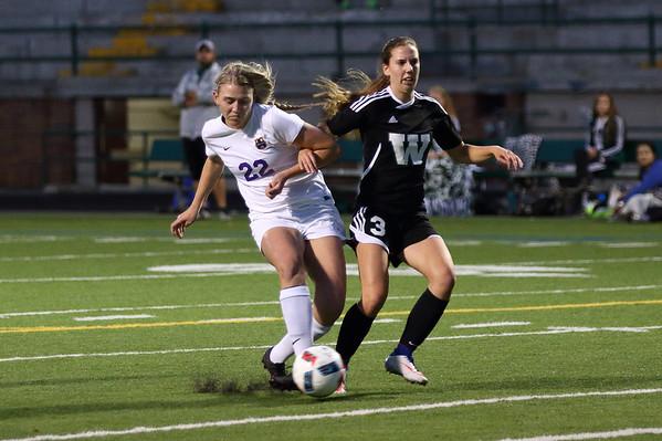 Columbia River Vs Woodland Girls High School Soccer