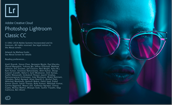 Lightroom CC Classic - Screen Recordings