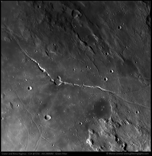 Crater and Rima Hyginus
