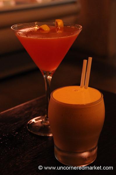 Cocktails at Tanta - Lima, Peru