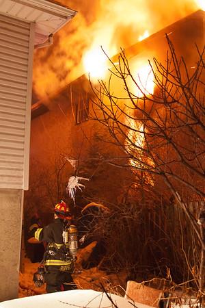 Lodi NJ 3rd alarm, 36 Columbia Ave. 02-07-15